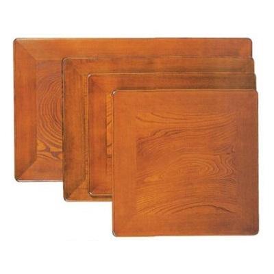 片面こたつ天板 こたつ天板のみ こたつ板 90×90cm ケヤキ 約5.5kg 日本製 天板厚:4cm コタツ天板 炬燵 こたつ 正方形 木製 こたつテーブル天板