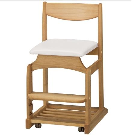 学習チェア 学習椅子 ダック NO5 アイボリー 堀田木工 木製 チェア 椅子 子供 キッズ