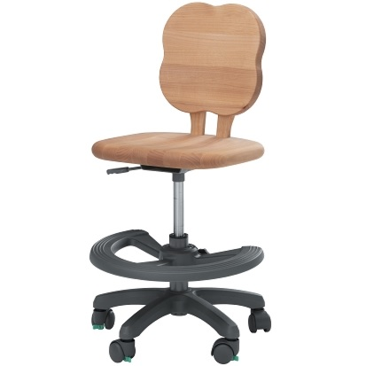 学習チェア デスクチェア 学習椅子 学習いす 木製 アルダー材 キャスター付き 昇降 日本製 ダックリーフN おしゃれ 人気