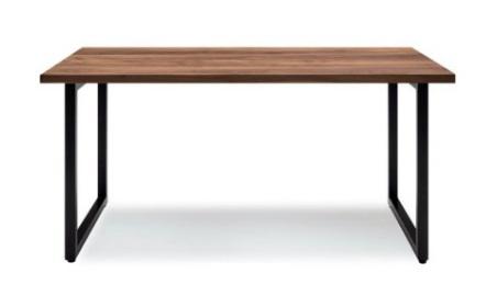 ダイニングテーブル 180cm テーブル 食卓テーブル ウオールナット突板 北欧 長方形