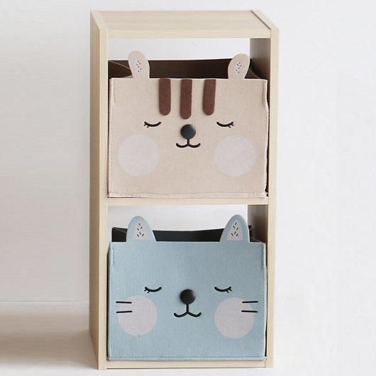 収納ボックス 即納 輸入 カラーボックス 収納棚 2段 収納 2段ボックス フリーボックス 北欧 おもちゃ箱 二段ボックス アニマル 子供部屋 アニマルボックス おしゃれ
