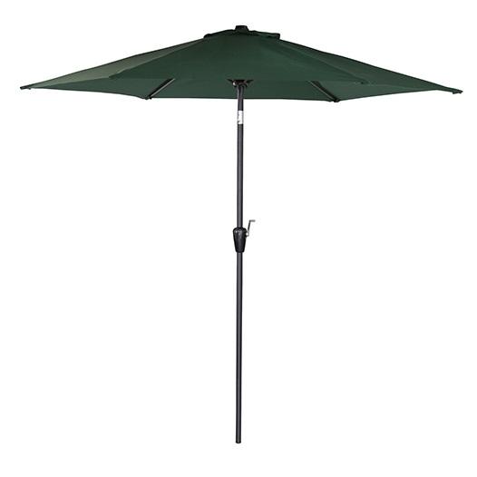 パラソル パラソル本体 ガーデンパラソル 265cm 角度調節 UVカット ビーチパラソル 傘 ガーデン カーデンファニチャー 庭 テラス ベランダ ビーチ キャンプ 日傘 折りたたみ グリーン ガーデニングパラソル 日よけ