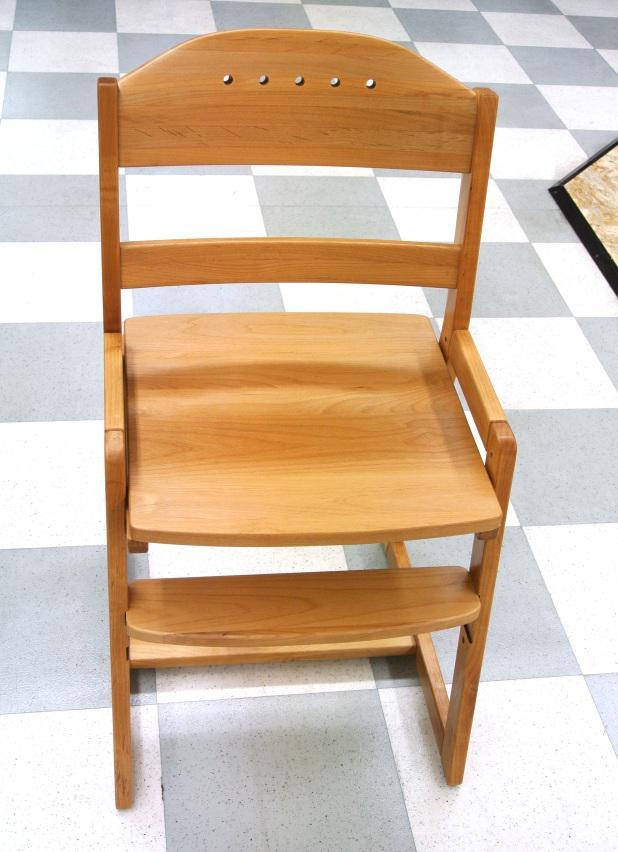 チェア 学習チェア 学習いす 木製 子供椅子 おしゃれ シンプル 北欧風デザイン ナチュラル カジュアル 幅42cm