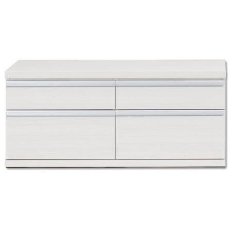新ラチス 組み合わせ家具 ローチェスト チェスト リビング収納 110cm ジョイント ホワイトウッド(ホワイト) FLS-110S