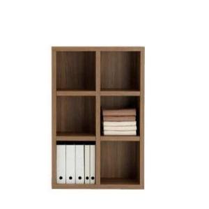 完成品 国産 オープン 本棚 本棚 書棚 飾り棚 ディスプレイラック 収納ラック シェルフ 壁面ラック ブラウン色 ミドルタイプ 壁面タイプ 75cm 日本製