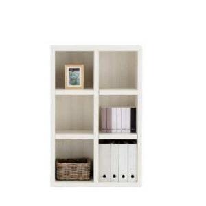 完成品 国産 オープン 本棚 本棚 書棚 飾り棚 ディスプレイラック 収納ラック シェルフ 壁面ラック ホワイトウッド ホワイト色 白 ミドルタイプ 壁面タイプ 75cm 日本製