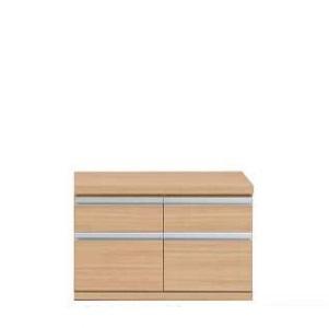 新ラチス 組み合わせ家具 ローチェスト チェスト リビング収納 75cm ジョイント エリーゼアッシュ(ナチュラル) FLA-75S