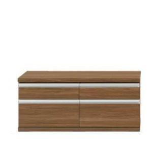 ローチェスト チェスト リビング収納 110cm 新ラチス 上品 組み合わせ家具 リアルウォールナット FLD-110S メーカー公式 ウォールナット ジョイント
