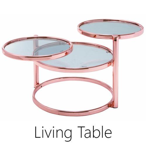 リビングテーブル テーブル 59(138)cm センターテーブル ガラス シンプル 北欧 スモークガラス おしゃれ