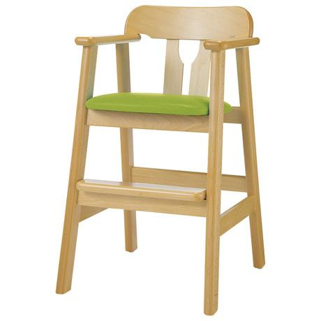 ベビーチェア ハイチェア 木製チェア 完成品 ベビーチェアー チェア 椅子 赤ちゃん キッズチェア レザー 子供チェア ナチュラル