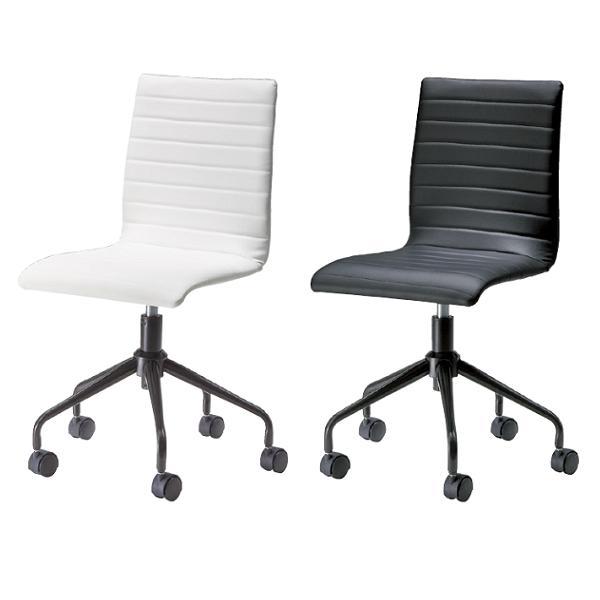 デスクチェア ワークチェア パソコンチェア 椅子 チェア イス キャスター おしゃれ 北欧 ホワイト ブラック