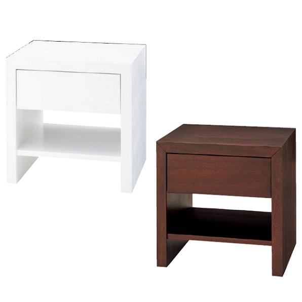 ナイトテーブル サイドテーブル 幅45cmテーブル 小型テーブル 棚付き 引出し付 収納 収納テーブル シンプル おしゃれ 北欧