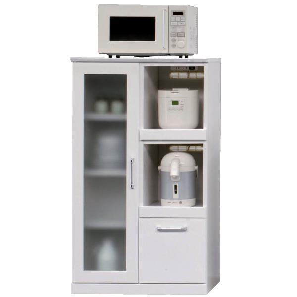 レンジ台 レンジ ホワイト 70cm幅 ミドルタイプ キッチン収納 収納 レンジ台 レンジ
