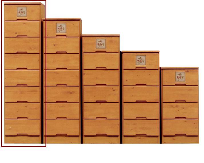 チェスト ハイチェスト すき間家具 40-8 40cmスキマ収納 スリムチェスト 完成品  スリム収納 すき間収納 隙間収納