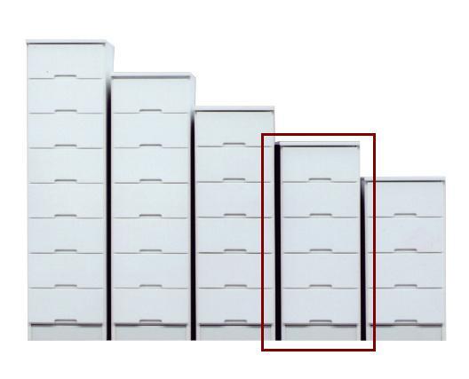 スリムチェスト すきま収納 ハイチェスト すき間家具 40-5 40cmスキマ収納 スリムチェスト 完成品 ホワイト スリム収納 すき間収納 隙間収納