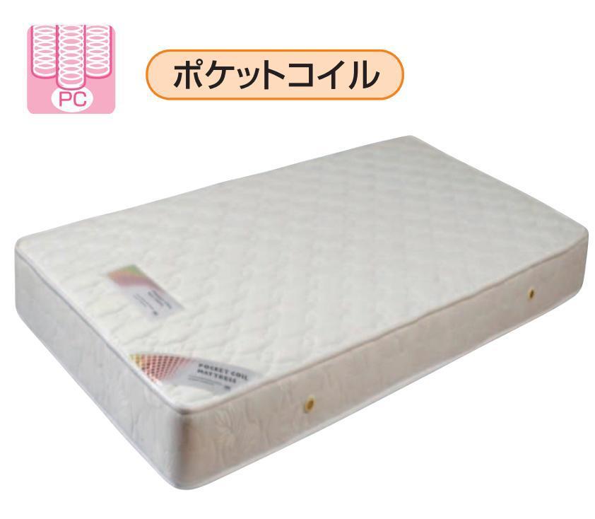 SDマットレス マットレス ポケットコイル 送料込み 市場 smtb-kd 寝具 ココ セミダブルマット 使い勝手の良い セミダブルポケットコイルマットレス