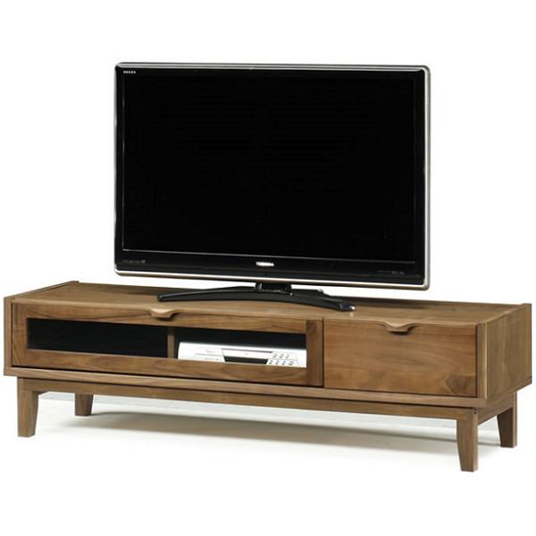 テレビボード テレビ台 ローボード 幅150cm 完成品 北欧 シンプル ウォールナット