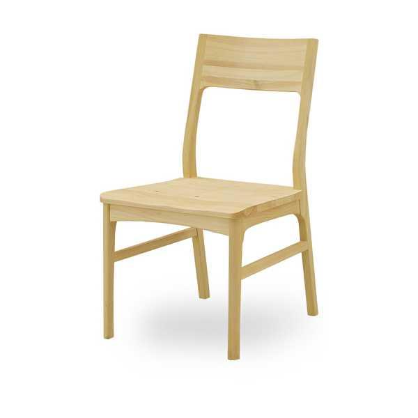 【2脚セット】木製チェア ダイニングチェア 無垢 カントリー ナチュラル,食堂 イス いす 椅子 ヒノキ ひのき 檜