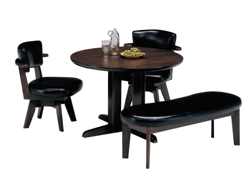 ダイニングテーブルセット 4点 4人掛け 丸型ダイニングテーブル 4点セット ダイニングセット ダイニングテーブル dining ダイニングチェア ダイニングベンチ 木製チェア シンプル おしゃれ 北欧 モダン ヴィンテージ 家具