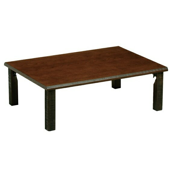 座卓 テーブル 105 折りたたみ 木製 タモ突板 日本製 ローテーブル 105cm ちゃぶ台 レトロ クラシック 和風モダン
