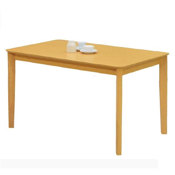 ダイニングテーブル テーブル W120 木製 ラバーウッド材 ナチュラル 幅120 食卓テーブル 木製テーブル 4人 北欧 おしゃれ(テーブルのみ)幅120×奥行75×高さ70cm
