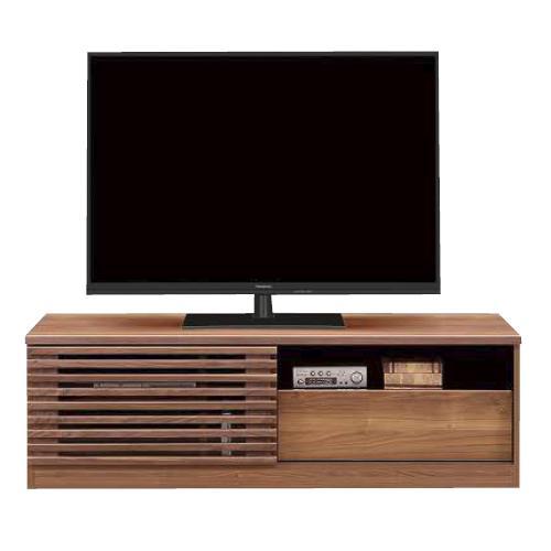 テレビボード テレビ台 gabi 140 木製 幅140cm引き戸 ローボード AVボード ウォールナット 日本製 おしゃれ モダン