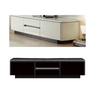 テレビ台 テレビボード 150 ローボード ホワイト ブラック アルコ シンプル モダン おしゃれ 人気 北欧 開梱設置付き