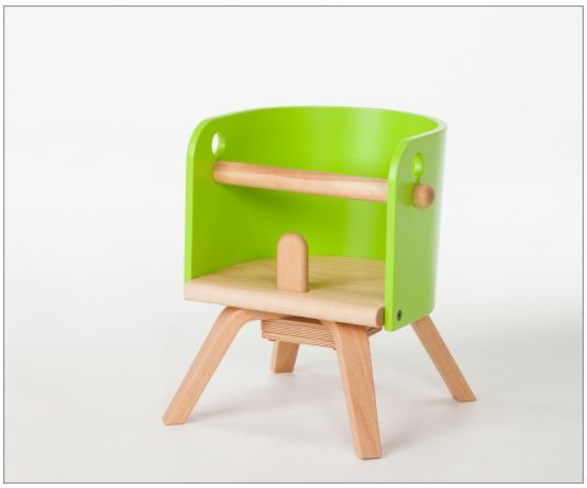 ベビー チェア(カロタ・ミニ CAROTA-mini)CRT-02L  【日本製】 ベビーチェア キッズチェア 子供いす ベビーイス ベビーチェアー 赤 緑 白 ナチュラル 10倍ポイント 子供家具 ベビー家具 送料無料