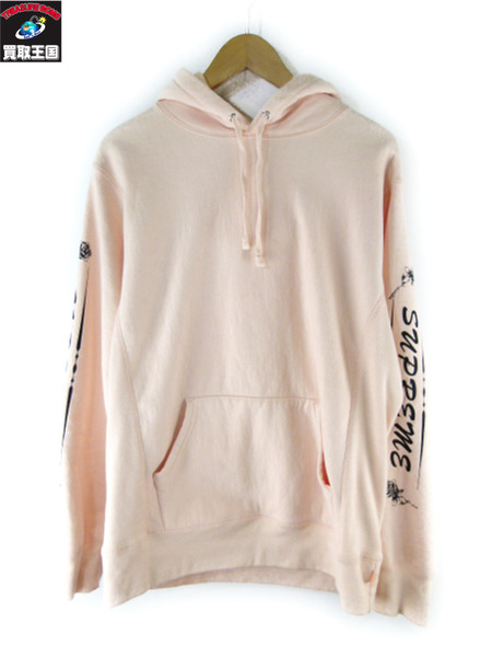 Supreme Rose Hooded Sweatshirt M【中古】[値下]