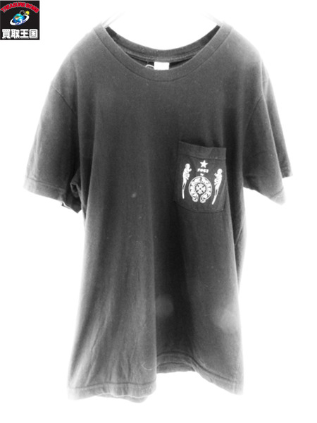 CHROME HEARTS ポケット カットソー 黒【中古】