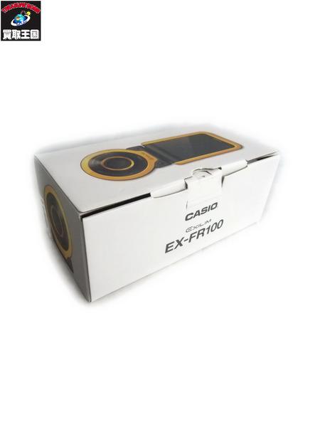 カシオ アクションカメラ EXILIM EX-FR100 ブラック【中古】[値下]