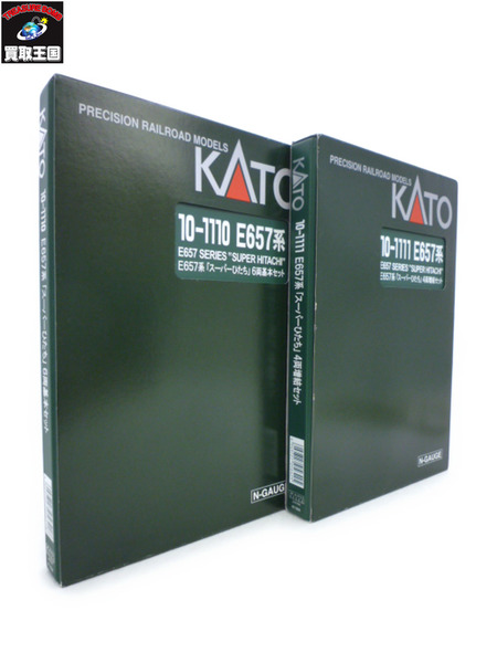 KATO E657系 スーパーひたち 基本+増結 10両【中古】[値下]