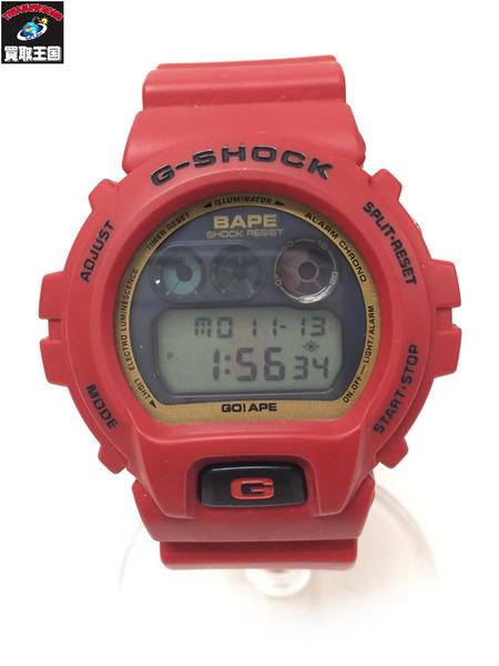 G-SHOCK×A BATHING APE/DW-6900/腕時計【中古】