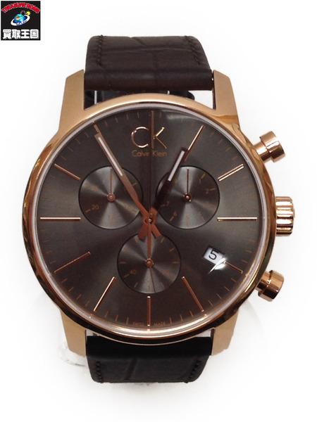 Calvin Klein クロノグラフ K2G 276 腕時計【中古】[値下]