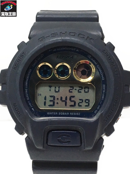 G-SHOCK×XLARGE 25th/DW-6900FS/腕時計【中古】[▼]