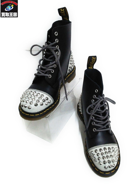Dr.Martens DAI Studed Boots UK6 黒【中古】