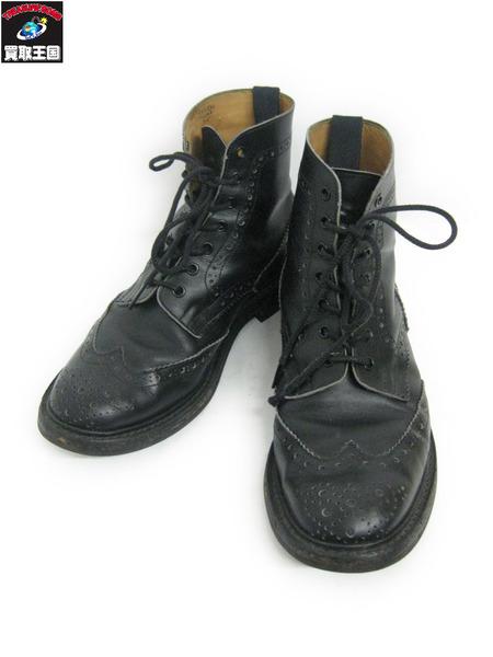 Trickers ウイングチップブーツ (9T)【中古】[値下]