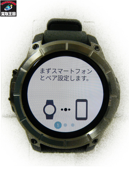 NIXON The Mission Android Wear【中古】[▼]