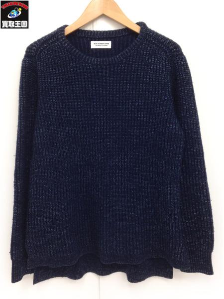 ロンハーマン カシミヤ混 コットンニット セーター (XS) 紺【中古】[値下]