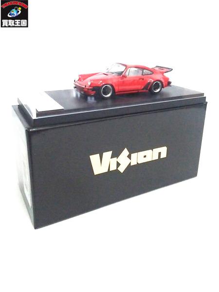 VISION 1/43 ポルシェ930ターボ3.0 1975 レッド赤【中古】[値下]