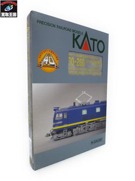 KATO Nゲージ鉄道模型誕生40周年記念 EF58 試験塗装機【中古】[値下]