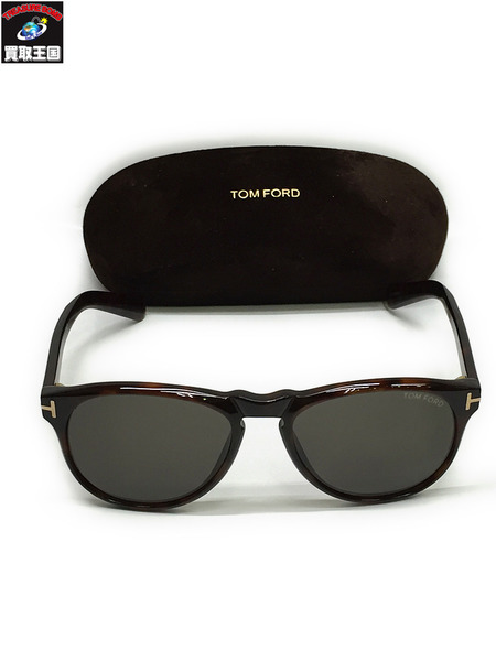 TOM FORD トムフォード サングラス TF291 ブラウン【中古】[▼]