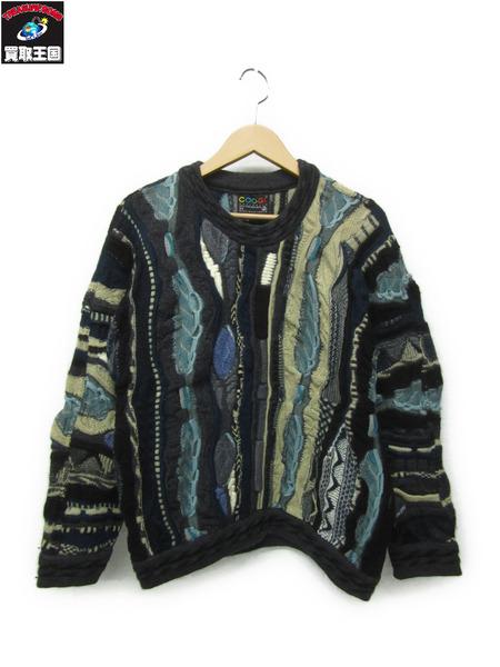 COOGI/クージー 立体編みニットセーター(SS)【中古】