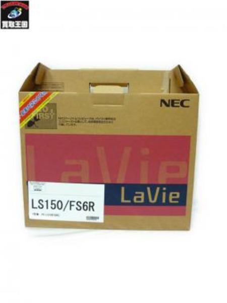 NEC LaVie LS150/FS6R PC-LS150FS6R ノートパソコン 未使用品【中古】[値下]