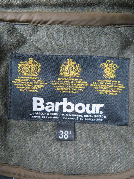 Barbour キルティングジャケットbf76gy
