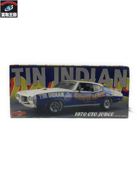 【超特価SALE開催!】 GMP 1/18 TIN INDIAN 1970 GTO JUDGE【】[▼], SQueeze SQuare 1ced812e