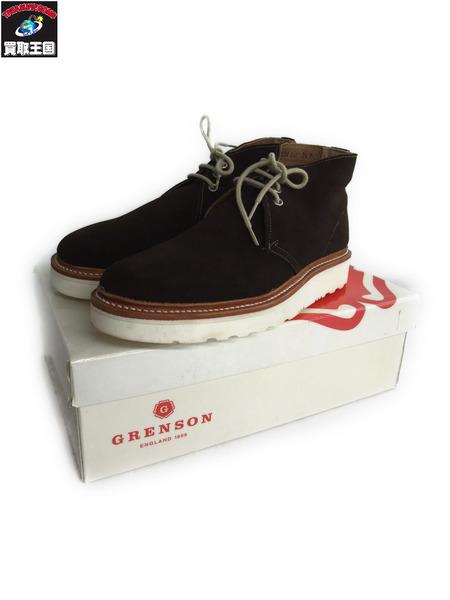 GRENSON ALLEN グレンソン スウェードチャッカ 23.5cm【中古】