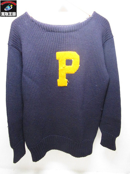 1930~40s VINTAGE  LETTERED SWEATER【中古】[値下]