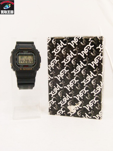 G-SHOCK X-GIRL DW-5600VT【中古】[値下]