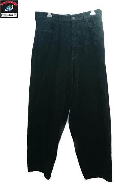 LAD MUSICIAN 19AW Tapered Wide Pants/太畝コーデュロイテーパードパンツ ラッドミュージシャン【中古】